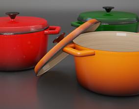 Casserole dish 3D model
