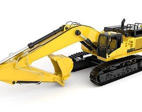 Standard Excavator High Poly 3D model