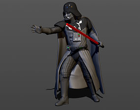 3D print model man Darth Vader