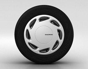 Daewoo Nexia Wheel 14 inch 002 3D