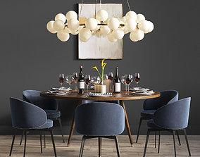 3D plafonds Dinning Set