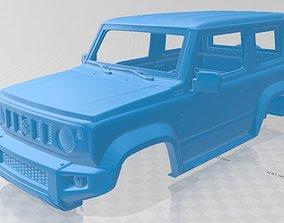 Suzuki Jimny Sierra 2019 Printable Body Car