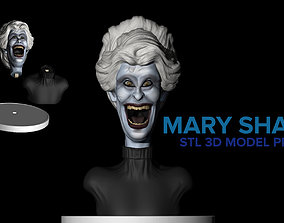 Mary shaw comic 3D print model
