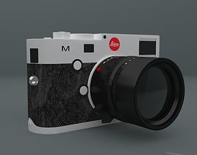 Leica M 240 with Summilux 50 mm lens 3D print model