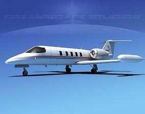 3D model Gates Bombardier Learjet 35 V12
