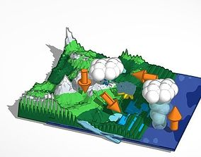 The Water Cycle 3D printable model