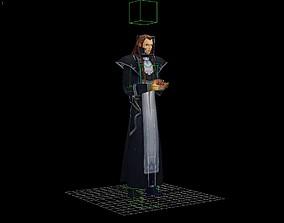 Prince sorcerer king juvenile 3D asset