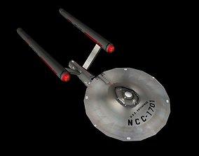 Star Trek USS Enterprise - Lowpoly 3D model