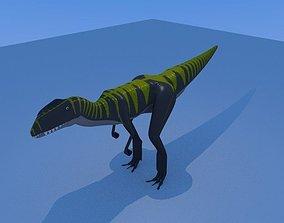 Dilophosaurus Male 3D model