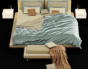 3D Modern bed 13