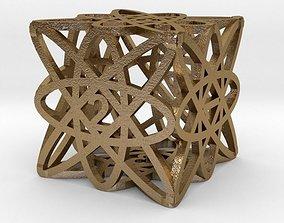art 3D print model Dice