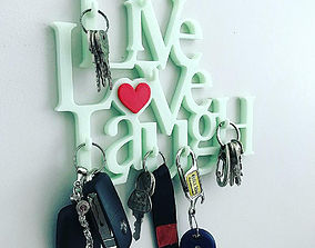 Live Love Laugh Keyholder 3D print model