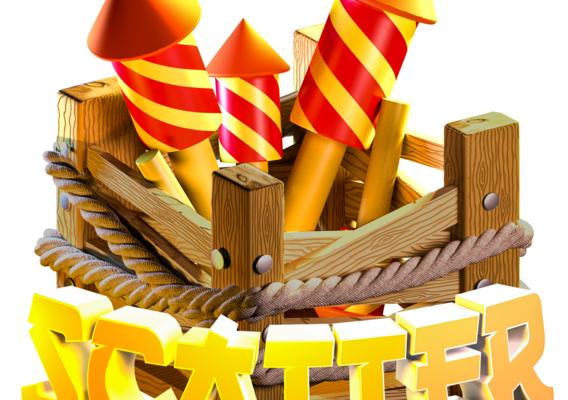 Firework Game Asset