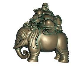 Maitreya japan 3D print model 3D model low-poly