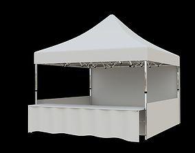3D Marketing tent 4x4m