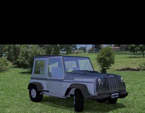 Jeep Wrangler-like 3d model inspired on Suzuki Vitara