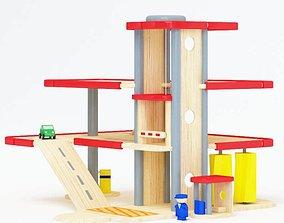 Children s Toy Garage 3D
