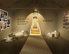 Cosmetics Promotion Exhibition 3D model