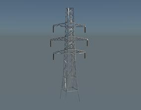 Pylon 3D asset