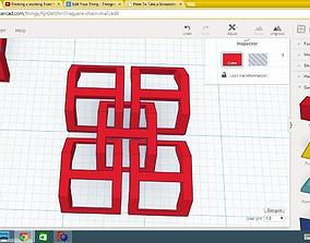 chain mail 3D print model