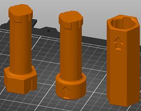 3D print model Rotating Paint Handle