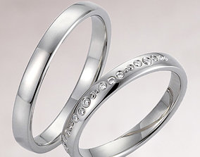 Wedding ring 227 3D print model