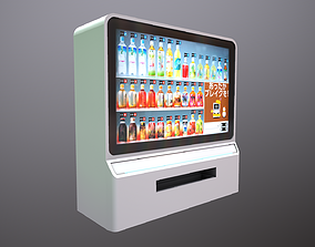 Futuristic Vending Machine 3D model