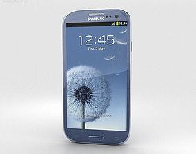 3D model Samsung Galaxy S3 Neo Pebble Blue