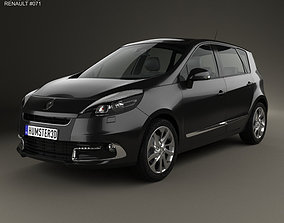 3D model Renault Scenic 2013