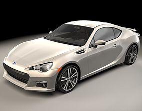 3D model concept Subaru BRZ