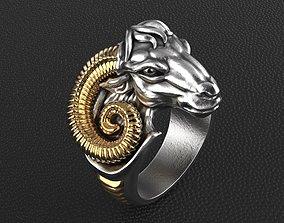 Aries ring 3D printable model