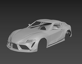 Toyota Supra 2021 Body For Print