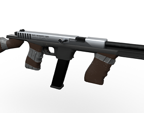 Glompson Submachine Gun 3D model