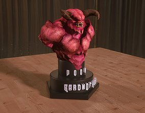 Bust Baron OF Hell 3D print model