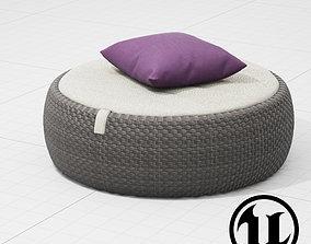 Dedon Dala Chair2 UE4 3D model
