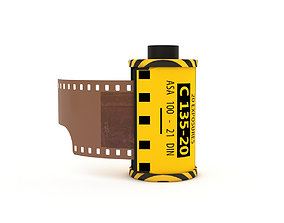 3D 1977 Kodacolor II C 135-20 Color Negative Film