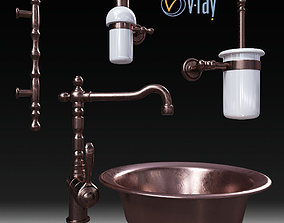 Set Migliore and faucet Fiore 3D model