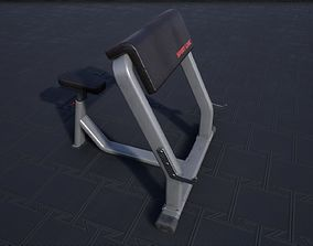 3D asset Scott Bench