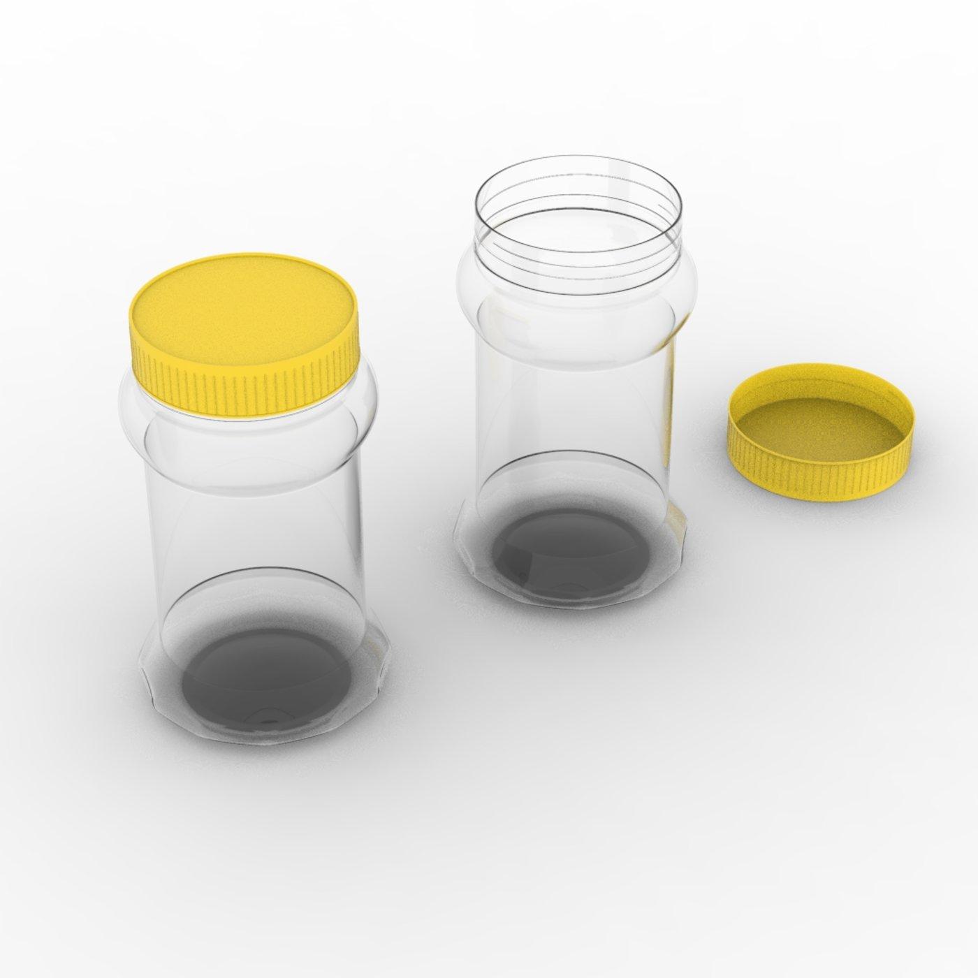 Pickle Plastic Bottle