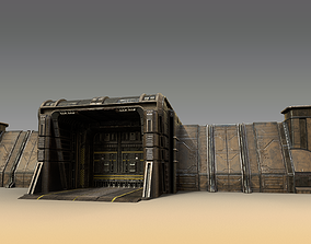 3D model Sci-Fi Outer Wall
