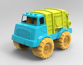 Cement Mixer Truck 3D model