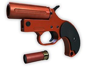 Flare Gun 3D asset