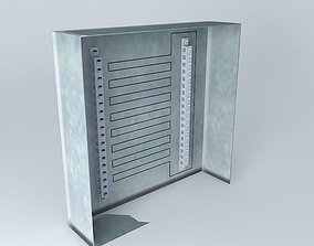 3D Open Breaker Box