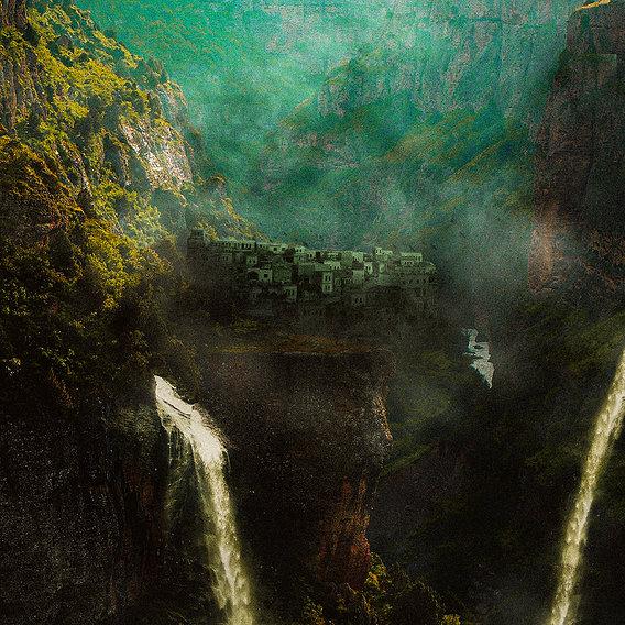 Waterfall City Artwork