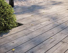 3D Old oak decking texture