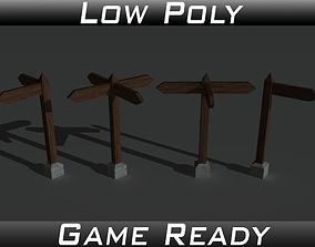 Signposts 3D model