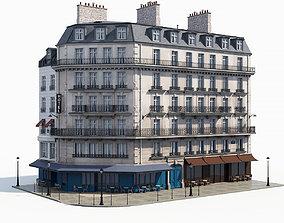 Corner haussman facade 3D