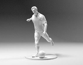 3D printable model Footballer 03 Footstrike 06 Stl