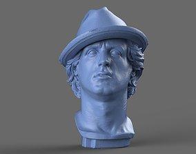 Rocky Balboa Bust 3D model