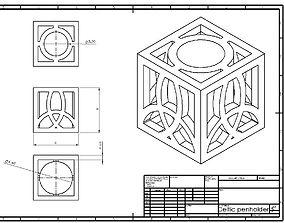 Celtic Penholder 5 3D print model